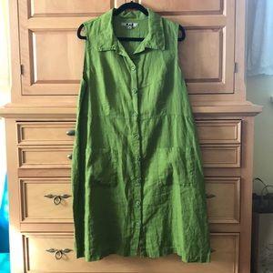 Flax 100% Linen Dress
